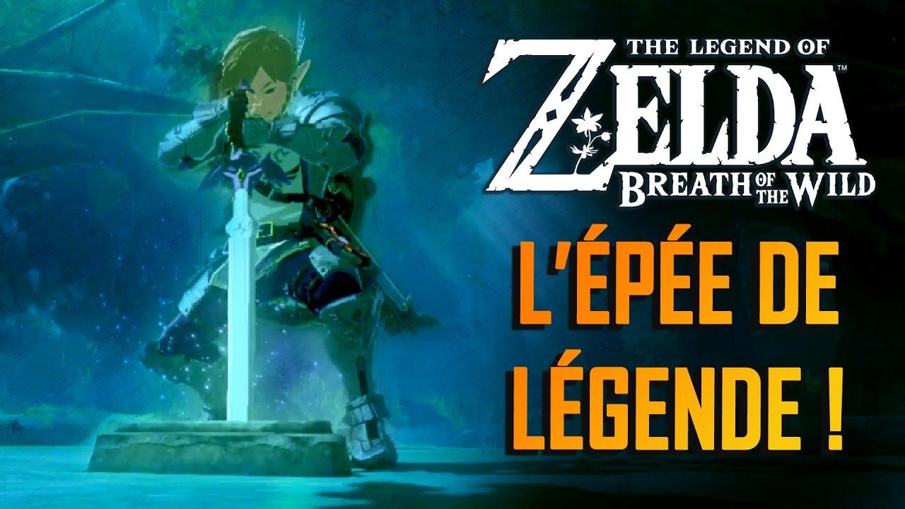 ZELDA BREATH OF THE WILD : L'épée de légende | GAMEPLAY FR