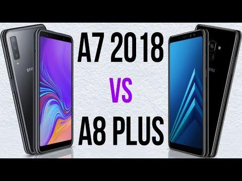 A7 2018 vs A8 Plus (Comparativo)