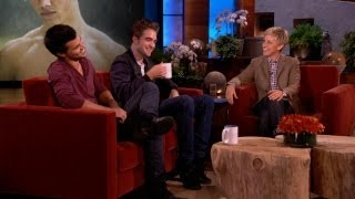 Two of the biggest stars of Twilight, Robert Pattinson and Taylor L...