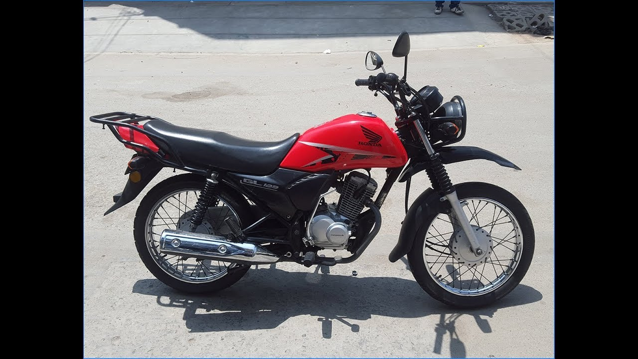Moto Honda GL 125 CB1 - Lima Perú - YouTube