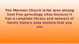 Free Genealogy Sites Research Benefits