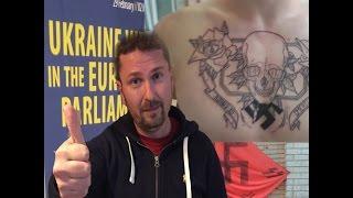 Свастики в Европарламенте - троллинг боевиков + English Subtitles