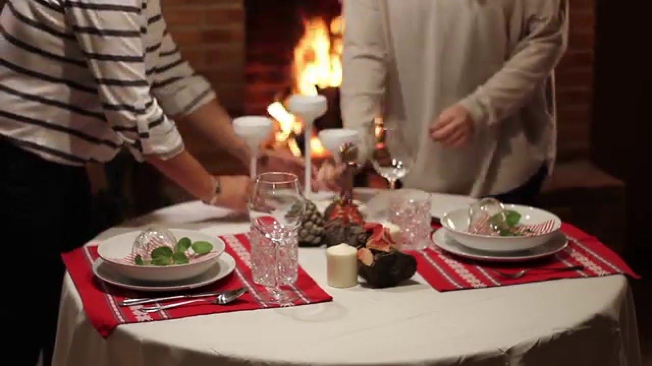 C mo decorar la mesa en navidad youtube - Como decorar la mesa de navidad ...