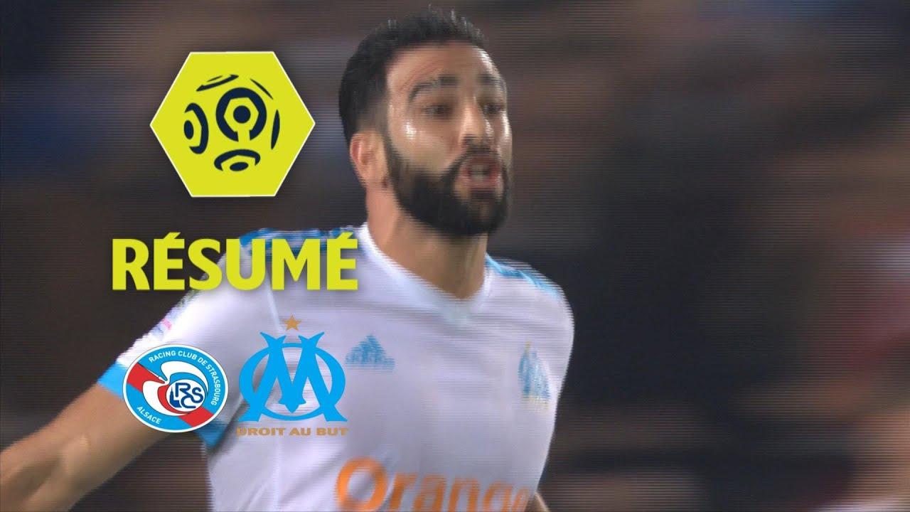 strasbourg vs marseille  15 oct 2017   ud83d udd25 video highlights