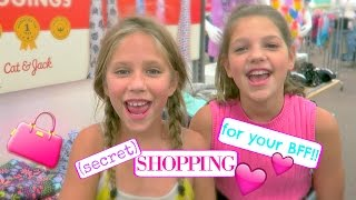THE SHOPPING CHALLENGE for your BFF! Secret Shopping at Target for a Fall outfit Annie & Hope