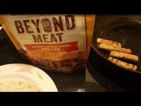 Beyond Meat Chicken...TOO Real???? (Vegan, gluten-free)