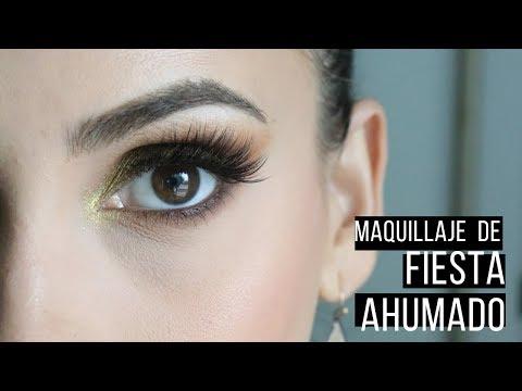 Maquillaje de noche glamuroso, elegante y ahumado - Carolina Ortiz thumbnail