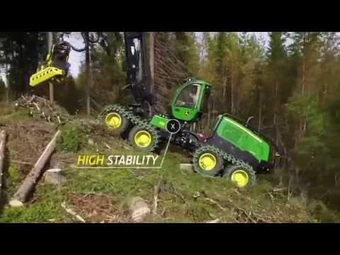Harvester John Deere 1270G - 8 Wheels