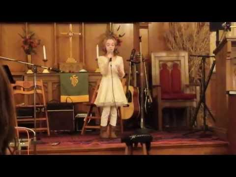 """Amazing Hallelujah by 9 year old little girl Ally Rose """"Leonard Cohen"""""""