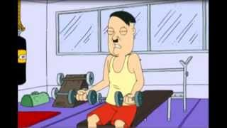 Family Guy - Hitler in the Gym