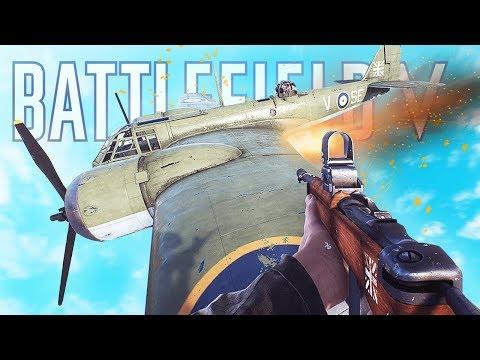 RANDOM & FUNNY MOMENTS FUNTAGE - Battlefield V