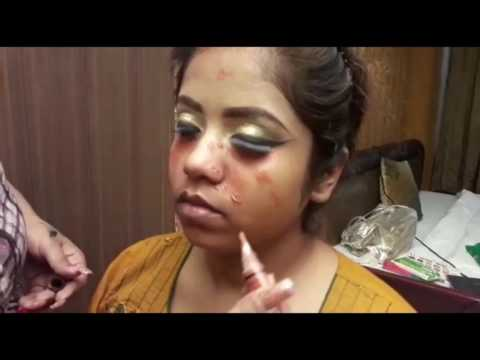 Real INDIAN MUSLIM BRIDE ~Make Up Tutorial by muktimua