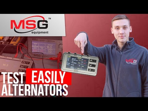 How To Test Voltage Regulators With Tester MS013 COM By MSG Equipment?