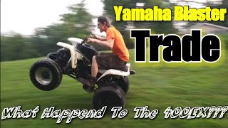 When The Mechanic Traded His 400Ex For A Yamaha Blaster Pt.1