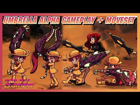 Skullgirls : Umbrella Playable Alpha First Gameplay + Moveset - Now Available