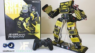 UNBOXING & LETS PLAY! - Super Anthony : Ultimate Battle Humanoid Robot w/ 45KG Servo Force Punch