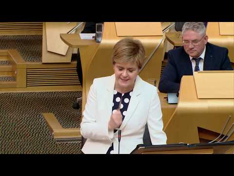 First Minister's Questions - Scottish Parliament: 15 June 2017