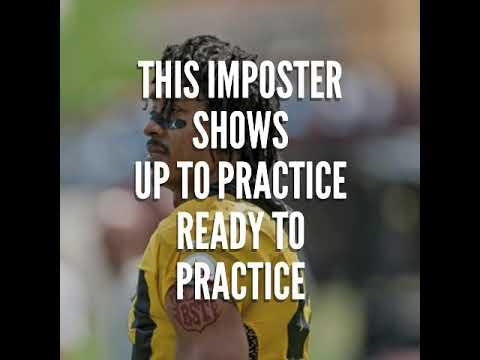 Otis - Fake Troy Polamalu shows up at Steelers Practice