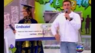 Final do Soletrando 2009 - a grande vencedora