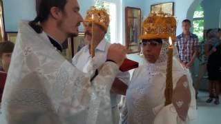 Церковный обряд бракосочетания  г. Сочи ( свадьба , венчание )