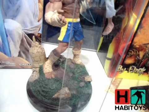 Habi Toys Animate 2011 - Dia 1 - Expo Sideshow Hot Toys Argentina.