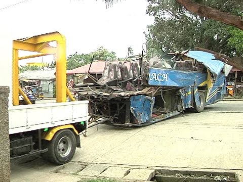 Kin of victims in the Tanay Bus accident to file charges against Panda Bus, Bestlink College