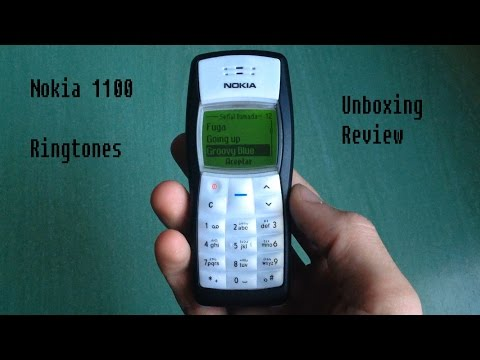 Nokia 1100 Retro Unboxing Review (old ringtones, classic games...)