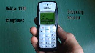 Nokia 1100 Retro Unboxing Review (old ringtones, classic games...)
