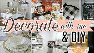 🍁FALL DECORATE WITH ME 2019/ DIY & THRIFT STORE DECOR🍁