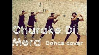 Churake Dil Mera Dance cover | Choreo PIYUSH | Dance Studio MJ | HipHop/Bollywood