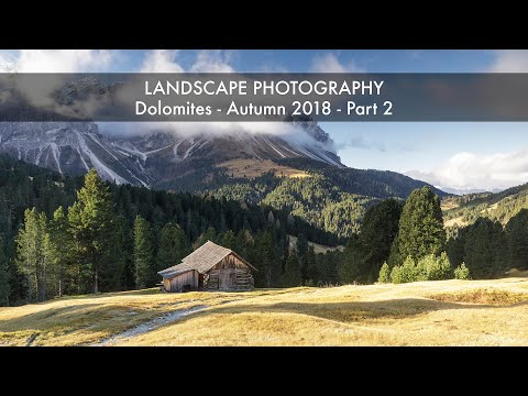 Landscape Travel Photography Dolomites Autumn 2018 Part 2