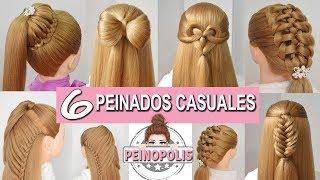 6 peinados faciles y rapidos con trenzas de moda para fiestasclasesniñas