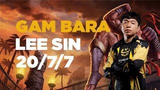 Bara (thành viên mới của GAM) quẩy 20 xác với Lee Sin [GAM Esports Highlight]