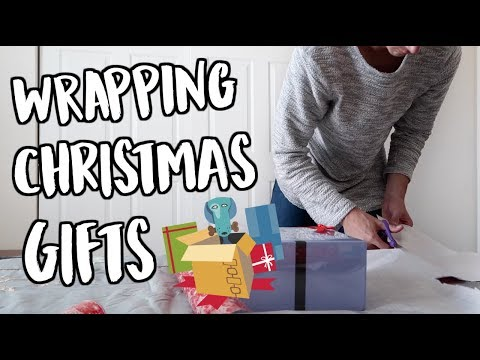 Download Youtube: WRAPPING CHRISTMAS GIFTS! VLOGMAS DAY 24!