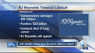 florida jury hands rj reynolds with 23 6b in damages