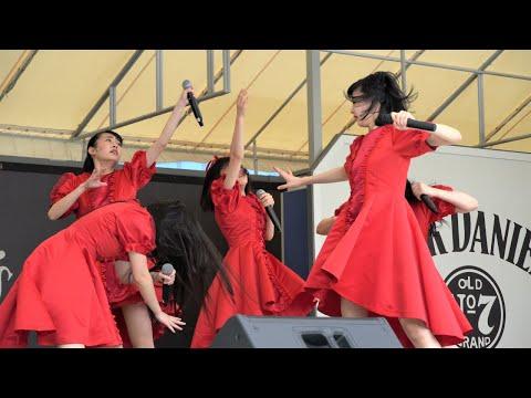 九州女子翼『赤の流れ』/としまえん_それいゆステージ(2020.07.05)【4K】