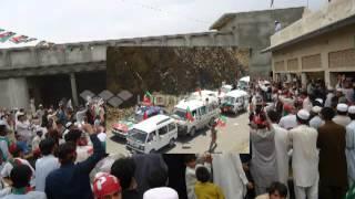Zamonga Mashar Imran khan de khyber agency pti rally
