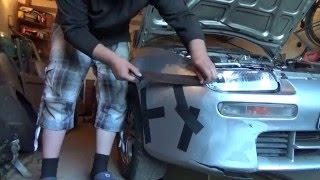 Как БЫСТРО отремонтировать БАМПЕР(Видео о том как восстановить бампер Mazda 323F в домашних условиях используя двухкомпонентную химию. Снято:..., 2016-05-13T09:28:58.000Z)