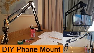 DIY Articulating Arm Mount for a Phone or Camera