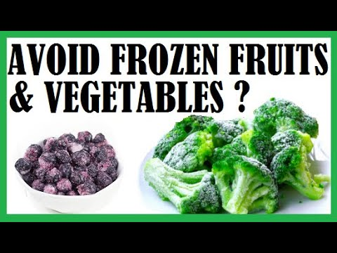 Should We Avoid Frozen Fruits & Vegetables? Dr Michael Greger