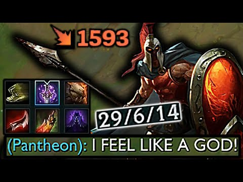 IS PANTHEON TOO STRONG??? (INSANE BURST)