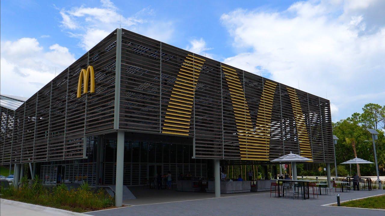 NEW McDonalds at Walt Disney World! Complete Tour in 4K | Walt Disney World Resort 2020