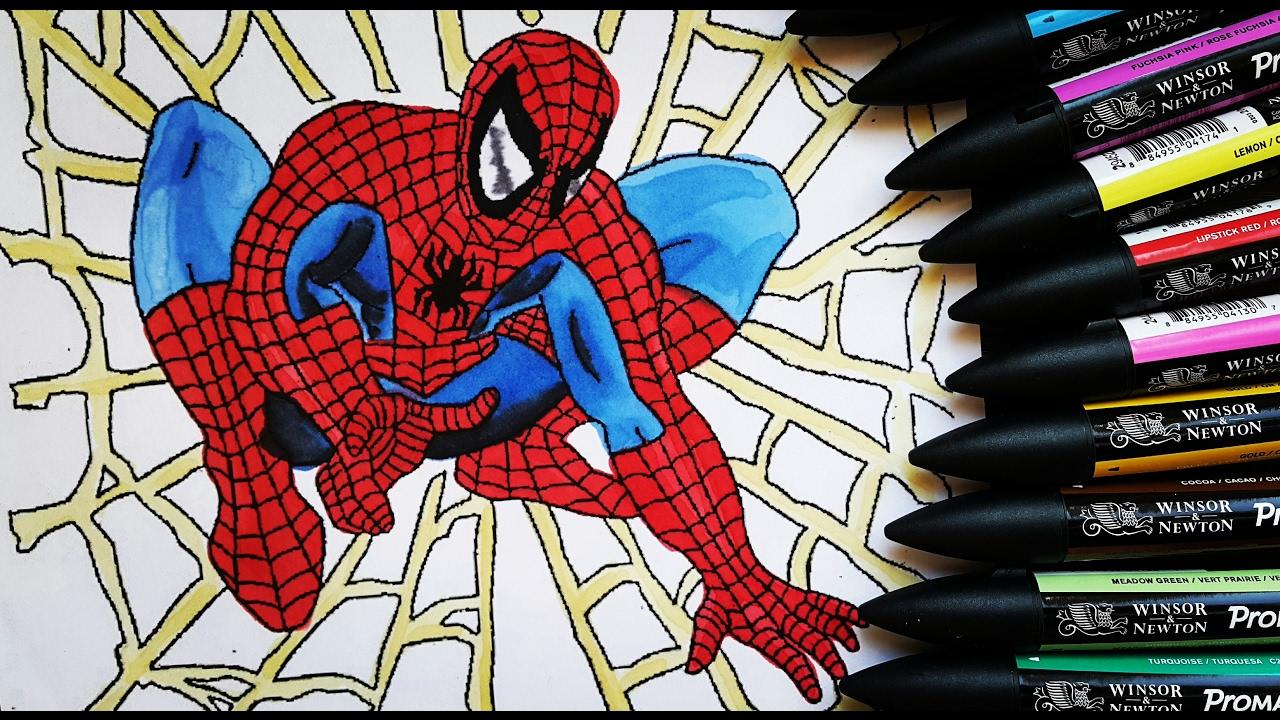 örümcek Adam Boyama 1 Youtube