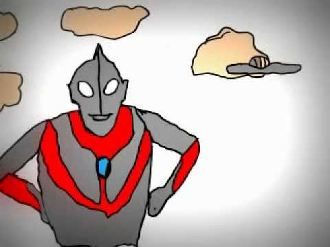 Ultraman in Cartoon - YouTube