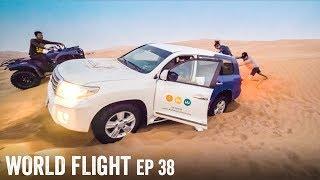 DESERT DRIVE GONE WRONG! - World Flight Episode 38