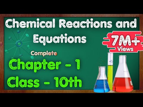 Chemical Reactions And Equations Class 10 Science CBSE NCERT KVS