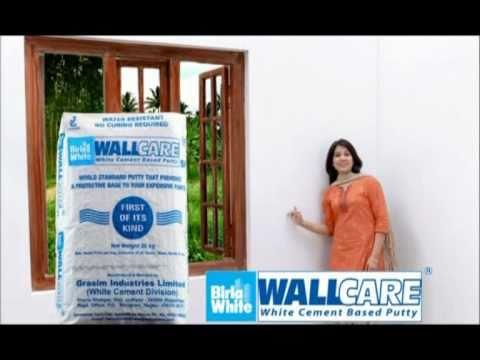 Difference between Birla White Cement and Birla Putty