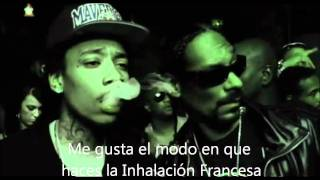 Wiz Khalifa ft. Snoop Dogg - French Inhale (subtitulada al español)