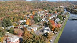 "Turners Falls Drone View ""The Patch"""