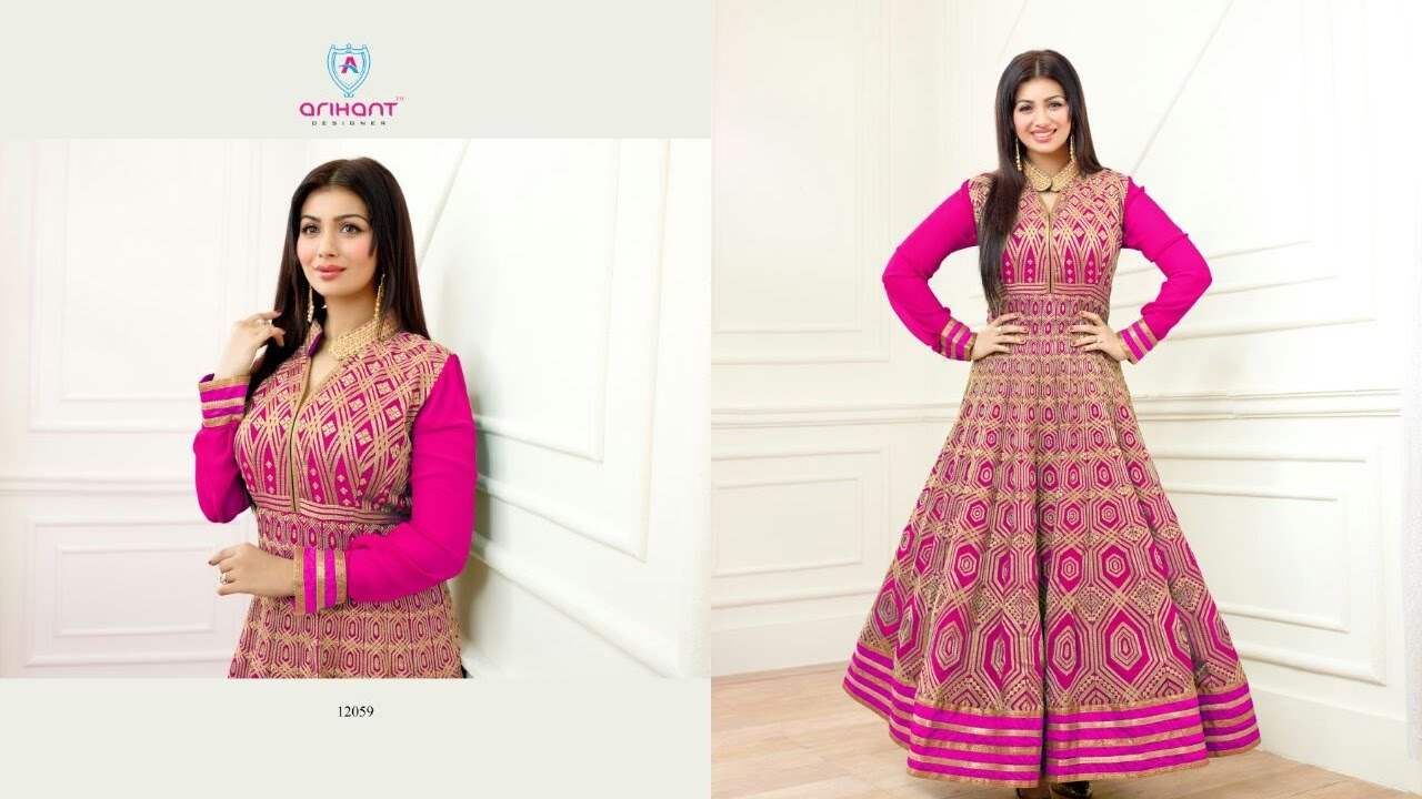 Modern dress design - Clothing Stores Modern New Arrivals Fashionable Women Long Anarkali Dress